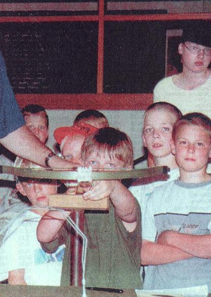 Ferienpassaktion  Sommerbiathlon mit Armbrustschiessen 2001