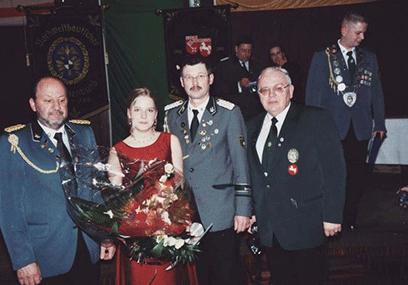 Vizelandeskönigin 2006 Cornelia Rump